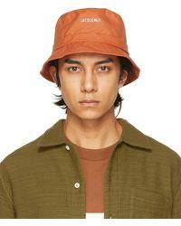 Jacquemus Chapeau orange 'Le Bob Gadjo' - Vert