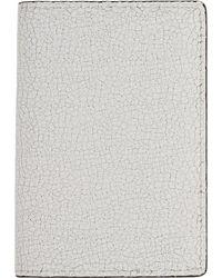 Common Projects ホワイト クラック Folio ウォレット - マルチカラー