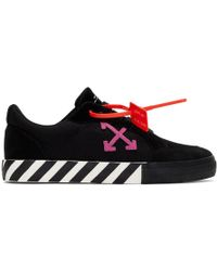 Off-White c/o Virgil Abloh Arrow Logo Sneakers - Black