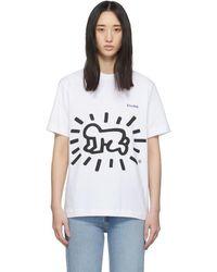 Etudes Studio - Keith Haring Edition ホワイト Wonder T シャツ - Lyst