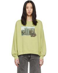 Off-White c/o Virgil Abloh - Green Hug Sweatshirt - Lyst