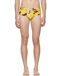 Loewe Yellow Paulas Ibiza Edition Bug Bathing Suit