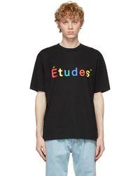 Etudes Studio - Études ブラック Wonder Multico T シャツ - Lyst