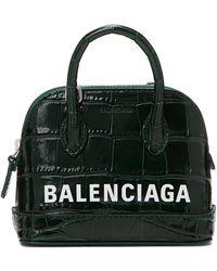 Balenciaga - グリーン クロコ ミニ Ville バッグ - Lyst