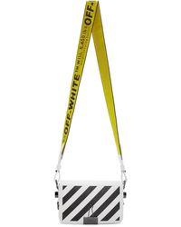 Off-White c/o Virgil Abloh White Mini Diag Flap Bag