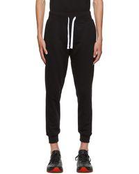 Ermenegildo Zegna Black Cotton Lounge Pants