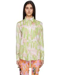 Collina Strada Ssense Exclusive Green Convention Shirt