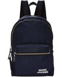 Marc Jacobs - Navy Medium Backpack - Lyst