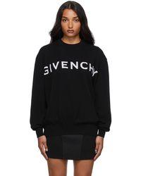 Givenchy ブラック カシミア 4g セーター