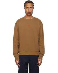 424 - ブラウン Alias ロゴ スウェットシャツ - Lyst