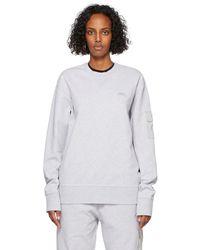 A_COLD_WALL* * Grey Essential Crewneck Sweatshirt