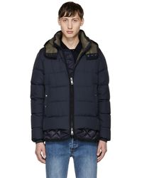 Moncler - Navy Down Tanguy Jacket - Lyst