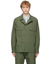 Engineered Garments グリーン Mc シャツ