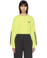 Yeezy Yellow Long Sleeve Calabasas T-shirt