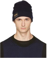 Stella McCartney - Navy 'members And Non Members Only' Beanie - Lyst