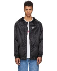 Baja East - Black Nylon Thriving Logo Track Jacket - Lyst