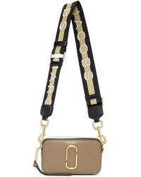Marc Jacobs Taupe Small Snapshot Camera Bag - Multicolour