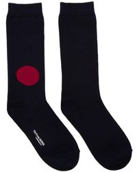 Blue Blue Japan - Navy Japan Flag Socks - Lyst