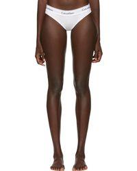 Calvin Klein - White Modern Bikini Briefs - Lyst