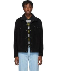 Levi's Black Sherpa Type 3 Trucker Jacket