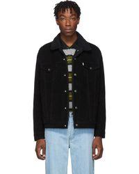 Levi's Black Sherpa Type 3 Trucker Jacket