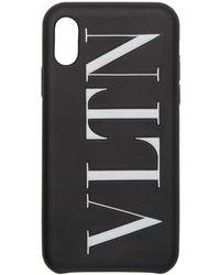 Valentino - Garavani コレクション ブラック Vltn Iphone X ケース - Lyst