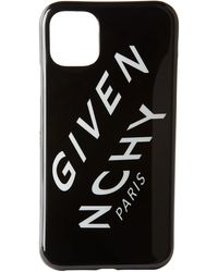 Givenchy - ブラック Refracted ロゴ Iphone 11 ケース - Lyst