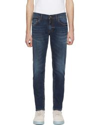 Dolce & Gabbana - Blue Classic Fitted Jeans - Lyst