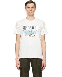 Helmut Lang - Saintwoods エディション ホワイト Hl Ocean T シャツ - Lyst