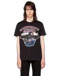Givenchy - Black Dark Hawaii T-shirt - Lyst
