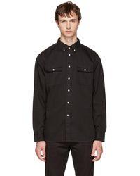 Saturdays NYC - Black Angus Shirt - Lyst