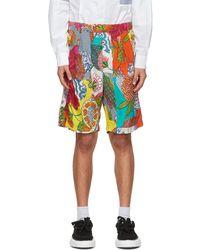 Engineered Garments - マルチカラー フローラル Sunset ショーツ - Lyst