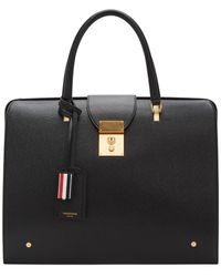 Thom Browne Black Mr. Thom Briefcase