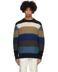 Marni マルチカラー G5 セーター - ブルー