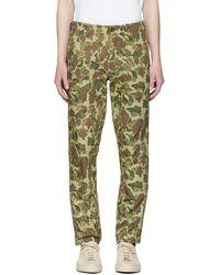Rag & Bone - Green Camo Field Trousers - Lyst