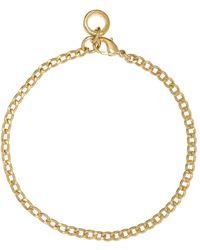 A.P.C. Gold Andrea Bracelet - Metallic