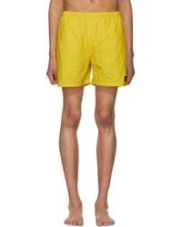 Noah - Yellow Swim Shorts - Lyst