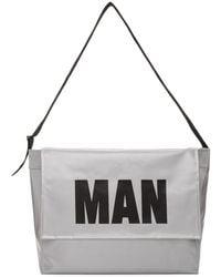 Junya Watanabe - Silver Pvc Man Messenger Bag - Lyst