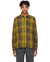 Our Legacy - Yellow Country Shirt - Lyst