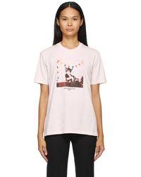 Stella McCartney T-shirt rose Year Of The Ox