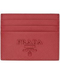 905a6ab8d3e8 Women's Prada Coin purses and wallets Online Sale - Lyst