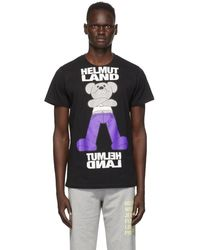 Helmut Lang ブラック Helmut Land® Mascot スタンダード T シャツ