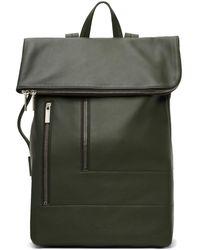 Rick Owens Green Duffle Backpack
