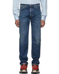 Balenciaga - Blue Original Five-pocket Jeans - Lyst