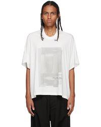 Julius Off-white Kite T-shirt
