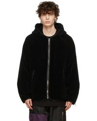 Mastermind Japan Chenille Skull Jacket - Black