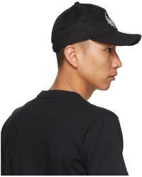 Yohji Yamamoto Casquette a logo noire Smile edition New Era