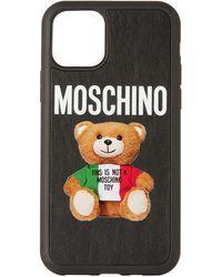 Moschino - ブラック Italian Teddy Bear Iphone 11 Pro ケース - Lyst
