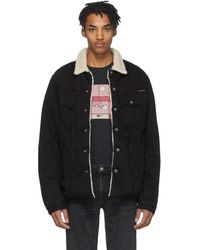 Nudie Jeans Black Denim Lenny Jacket