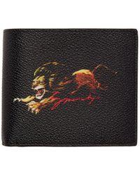 Givenchy Black Lion Logo Wallet